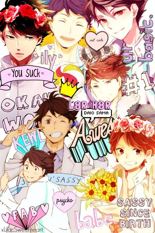 My Oikawa edit ~ xLilacSweetheart (Tumblr) on We Heart It