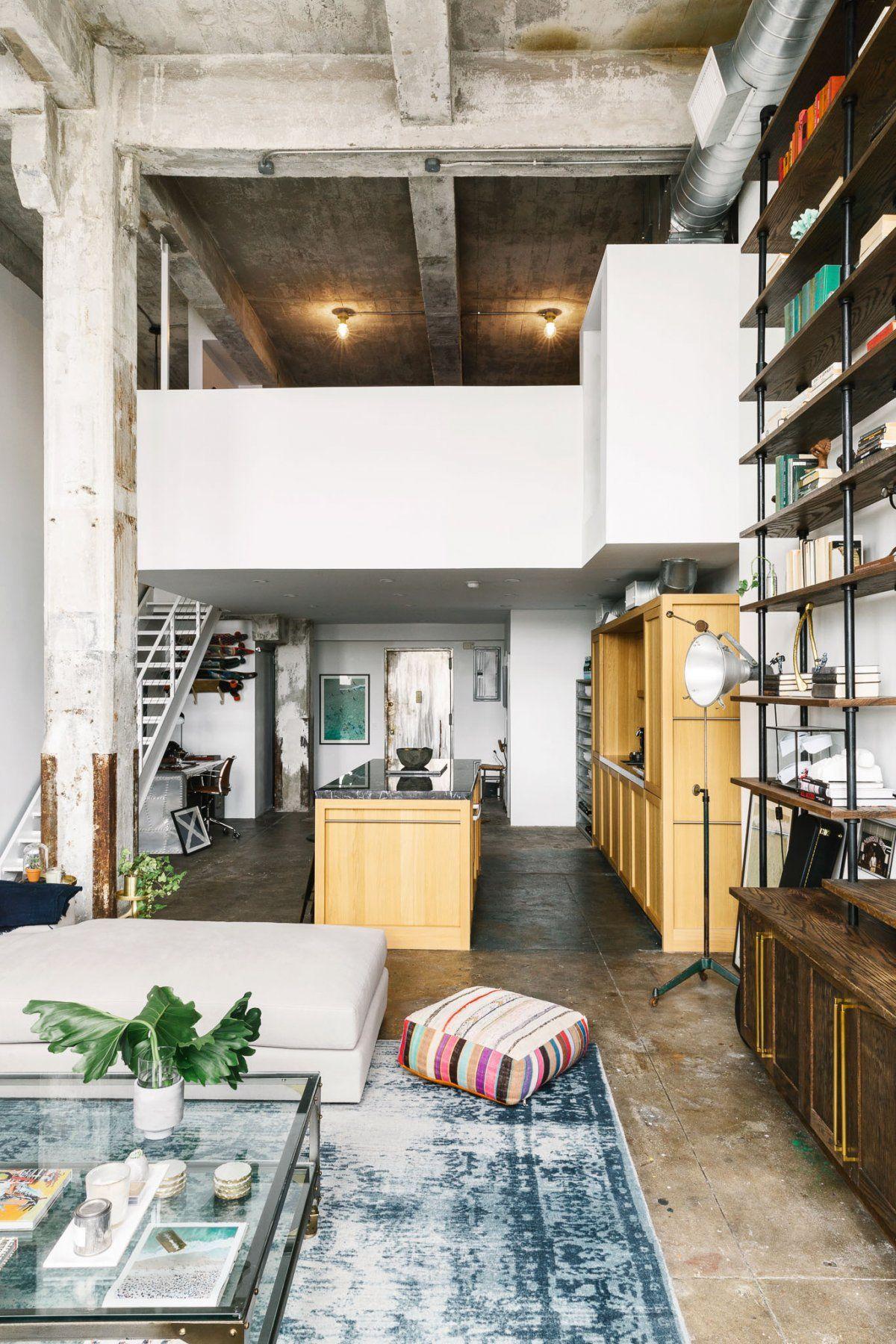 Take A Look Inside The Brooklyn Loft Of A Wall Streeter Turned Fragrance Entrepreneur Loft Apartment Decorating Loft Apartment New York Loft