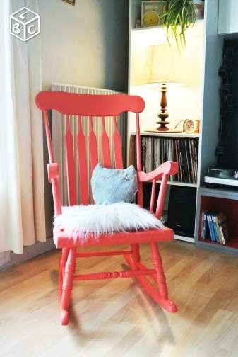 Rocking Chair Fauteuil A Bascule Ameublement Loire Atlantique Leboncoin Fr Mobilier De Salon Ameublement Deco Maison