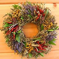 Lavender Herb Wreath