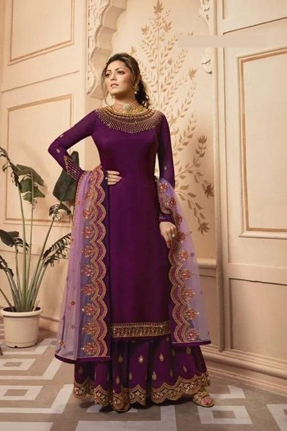 Indian Pakistani Dress Designer Full Sleeves Party Wear Formal Luxury Stylish indian salwar kameez