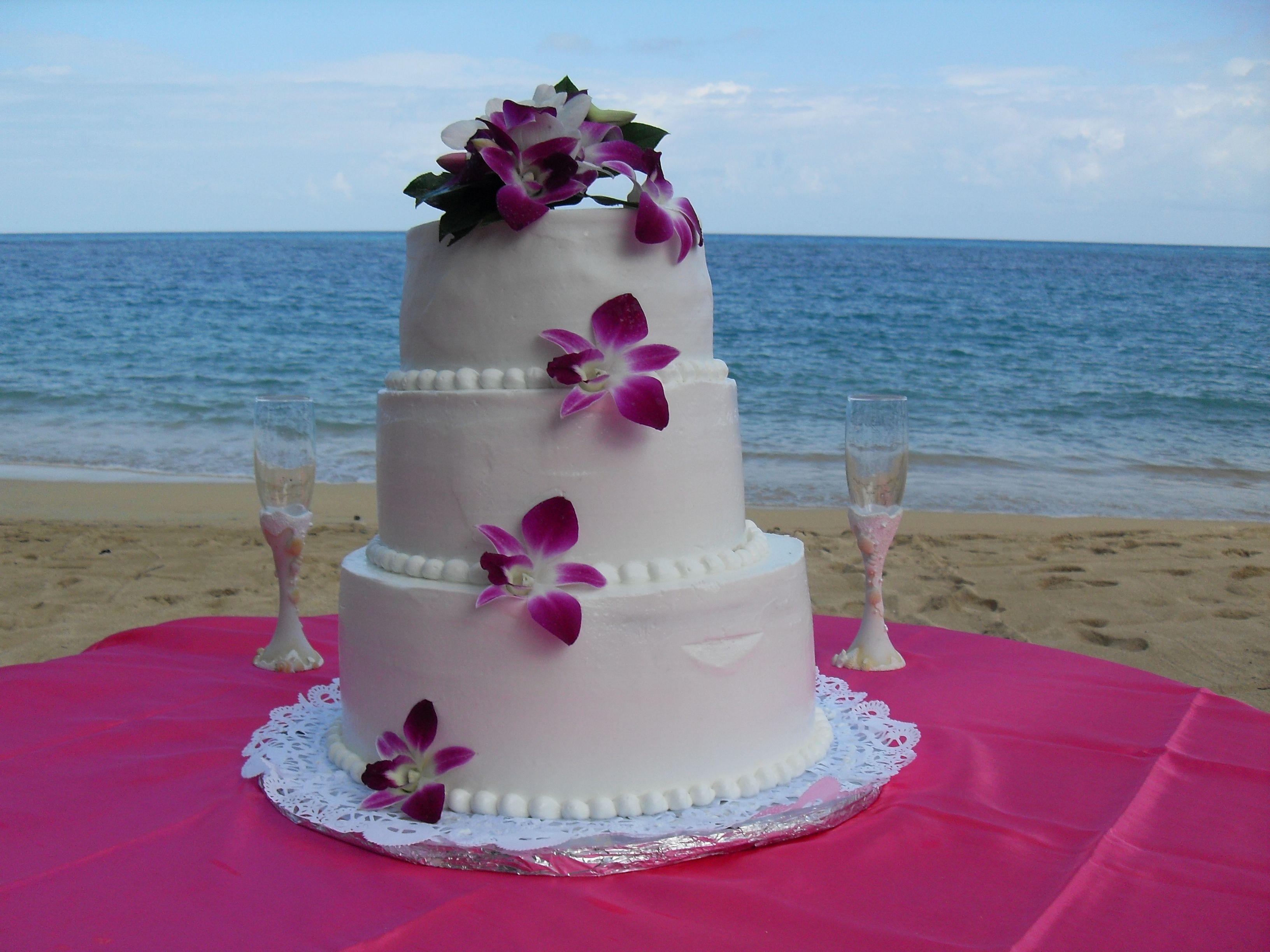 Tropical wedding cake :) Mauritius Wedding Cake ...