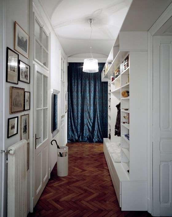 Arredamento corridoio stretto e lungo mobile a muro ale - Mobili corridoio stretto ...
