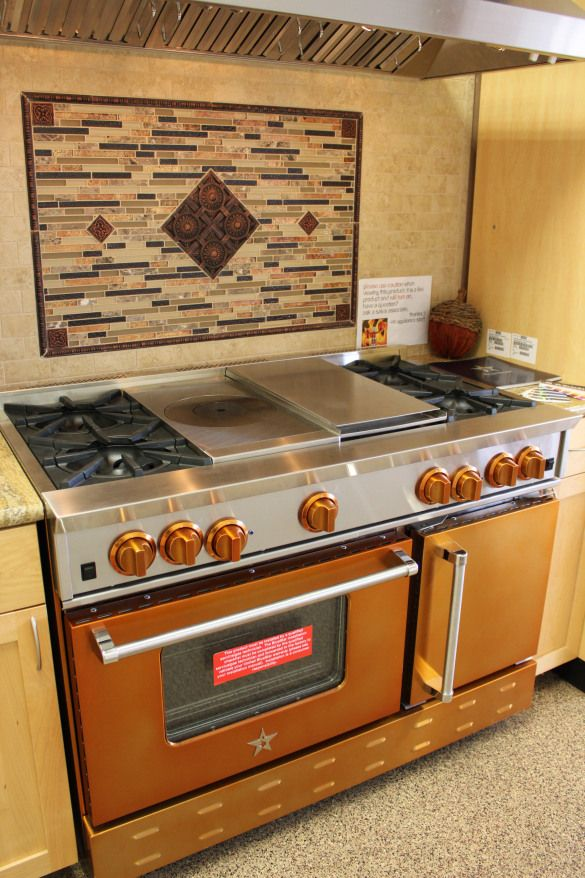 Blue Star cooktops available at Avenue Appliance Store in