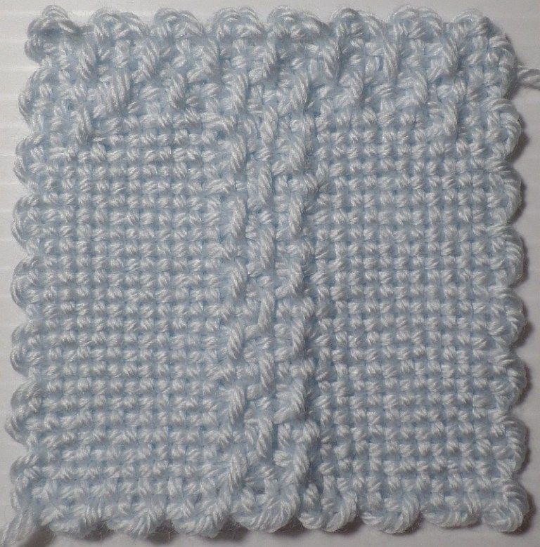 Photo of LETTER T — 4″ (31 x 31) pattern
