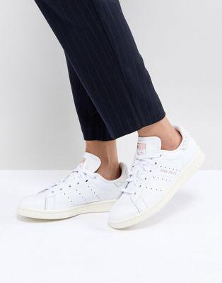 adidas originali stan smith scarpe con rettili indietro contro