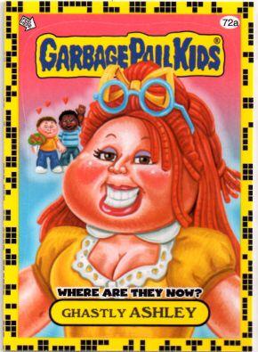 Gpk Ashley Garbage Pail Kids Garbage Pail Kids Cards Kids Part