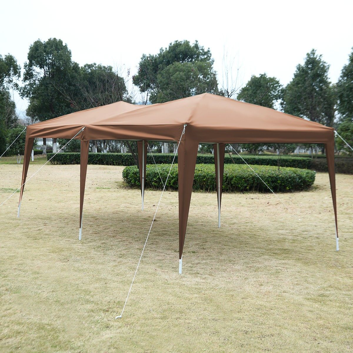10 X 20 Ez Pop Up Folding Wedding Party Tent Cross Bar Party Tent Party Tent Wedding Gazebo