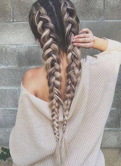 12 einfache Zöpfe für langes Haar   - Things that make my day better. -