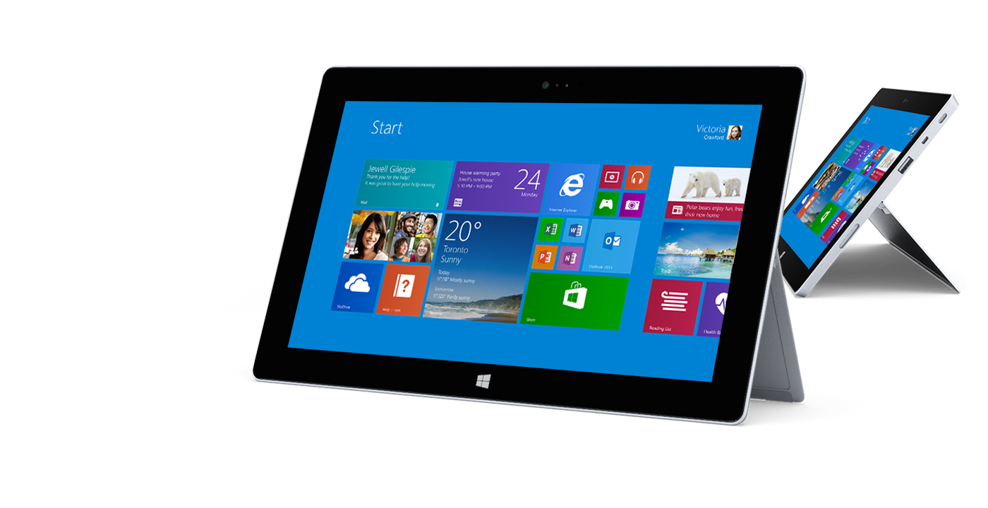 Surface 2 - One of Three Possibilities