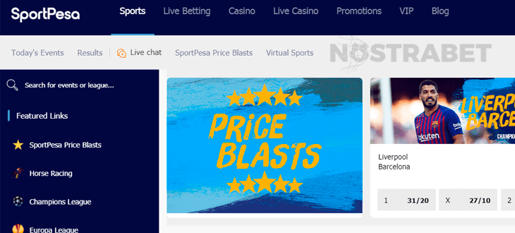 Sportpesa betting live horse what is the moneyline in sports betting
