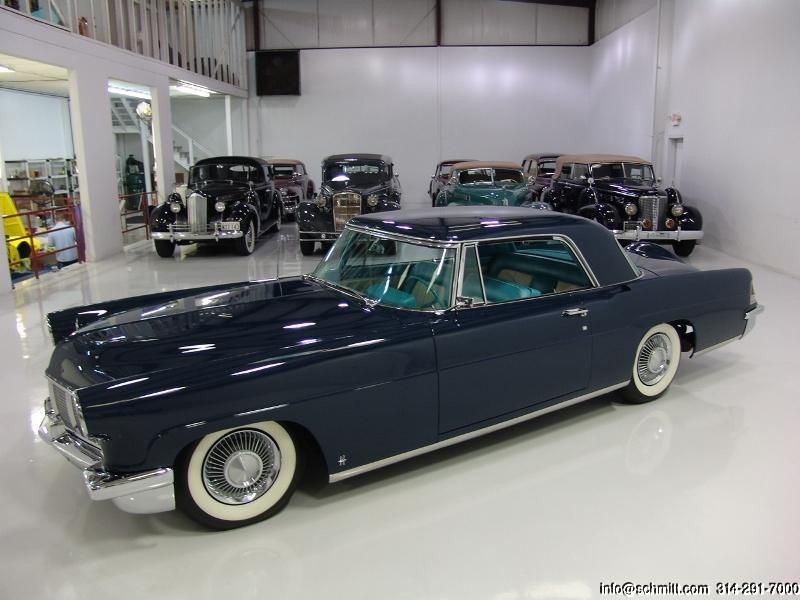 1956 CONTINENTAL MARK II 2-DOOR HARDTOP – Daniel Schmitt & Co. Classic Car Gal…