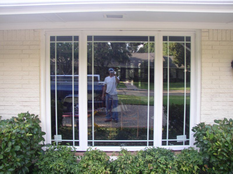 Prairie grids in bay window windows doors pinterest for Prairie style window