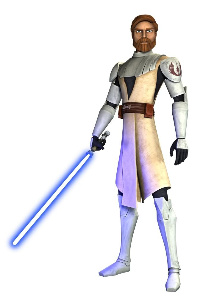 Image result for obi wan kenobi clone wars series