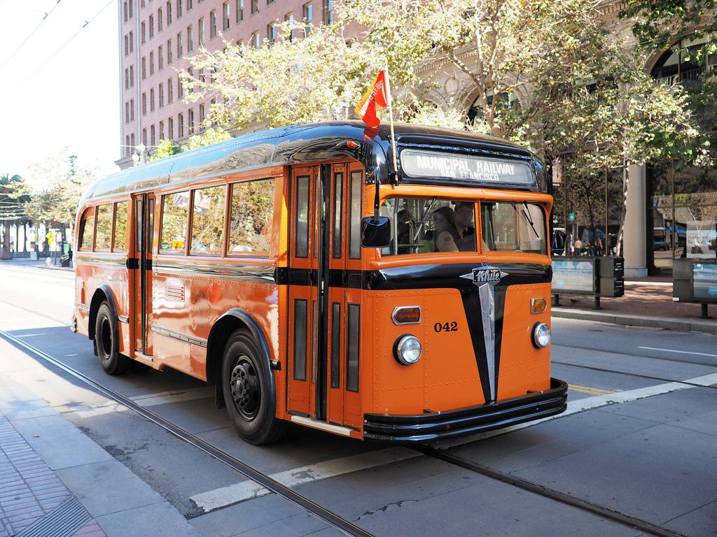 Rochester Ny Restored Old Look Bus