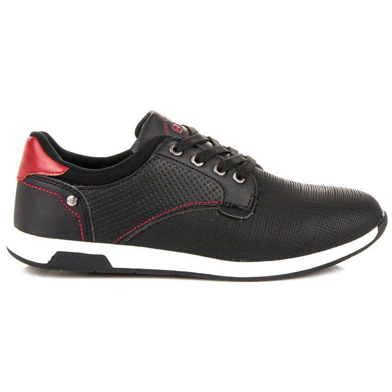 Sportowe Meskie Arrigobello Czarne Buty Sportowe Na Co Dzien Arrigo Bello Zapatos Hombre Zapatos Para Ninas Zapatos De Vestir