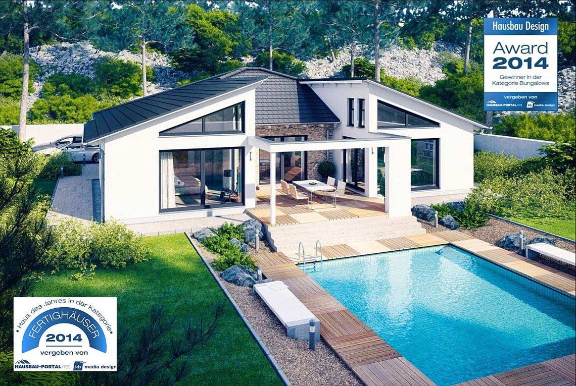 Modernes holzhaus bungalow  Bungalow Liberty - RENSCH-HAUS GMBH | Hausbau | Pinterest ...
