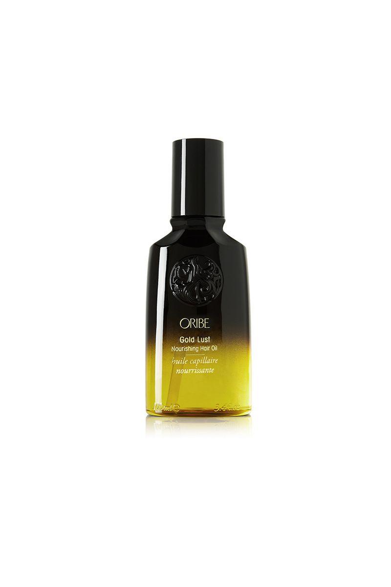 Aceite nutritivo para el cabello Gold Lust, de Oribe (56 €/ 100 ml; a la venta en Net-a-porter.com).