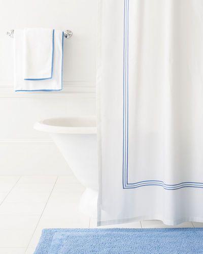 H89VR Pine Cone Hill Trio Shower Curtain