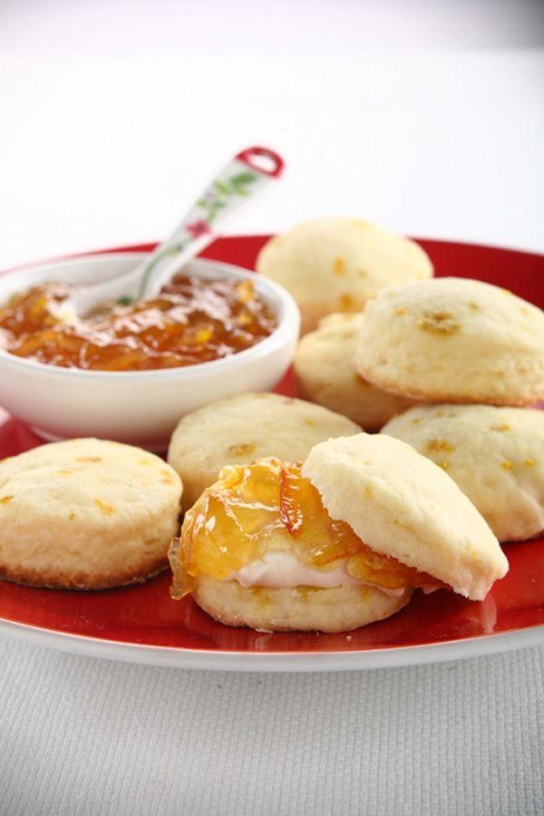 Scons de vainilla y naranja por CasanCrem | CasanHelp