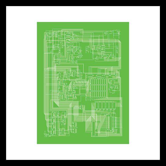 City Prints Computer Schematic Prints Doctor Ojiplático - new enterprise blueprint apple