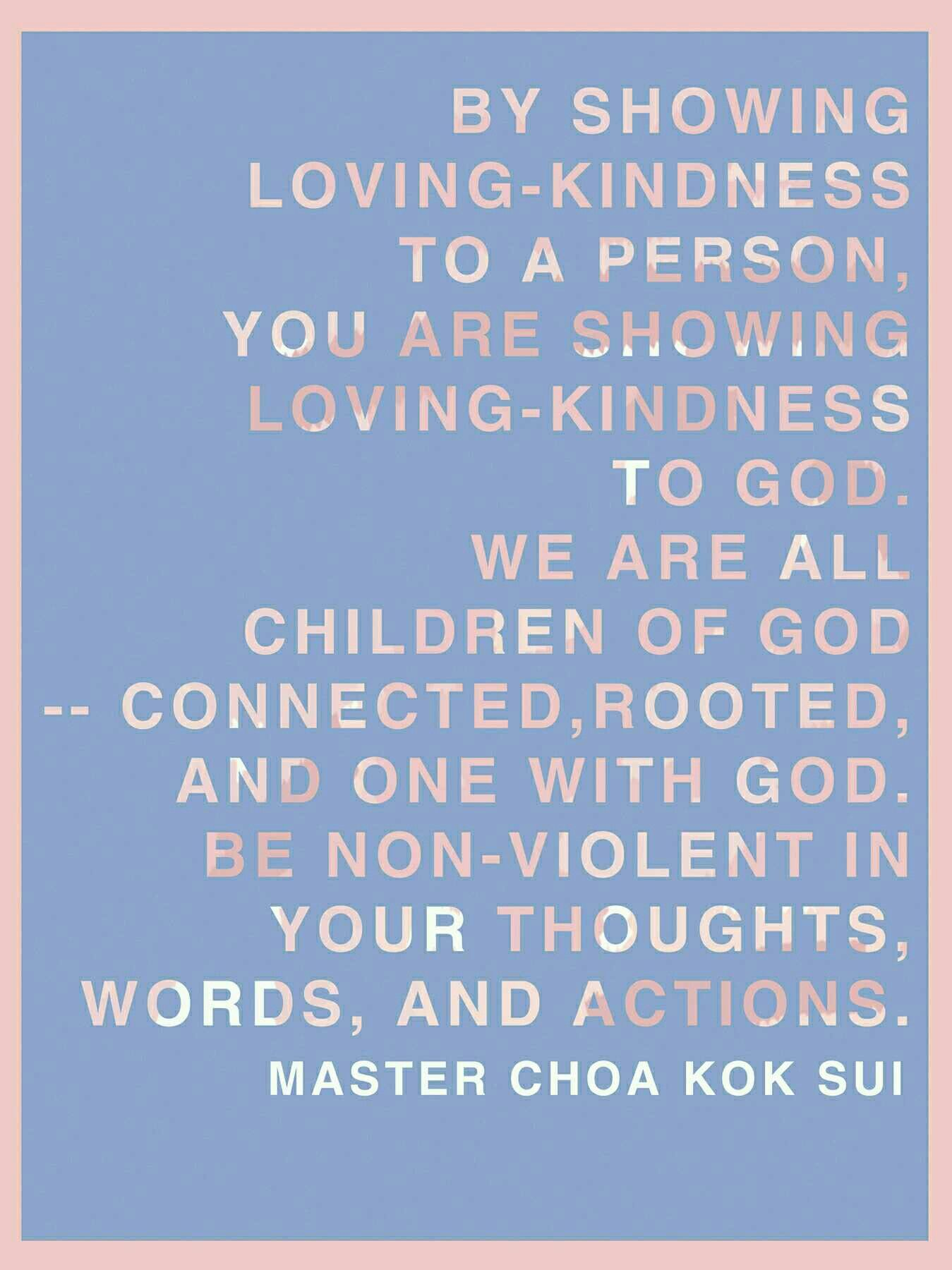 Loving Kindness Quotes Quotes Unfoldapp Mcks Lovingkindness God Thoughts Words
