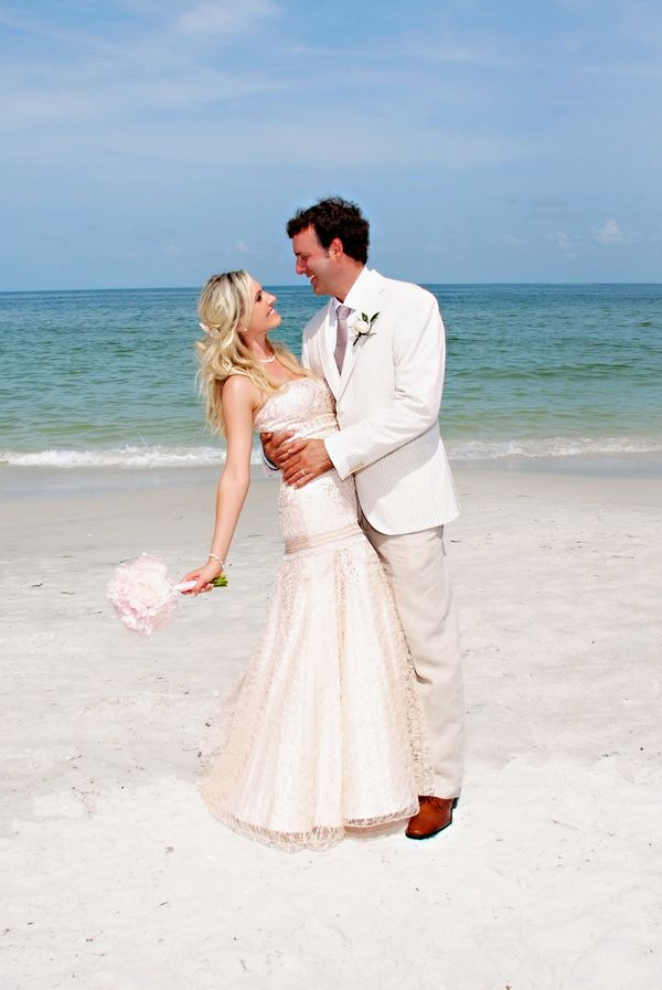 Stani Paul S Pretty In Pink Beach Wedding With The Bride Wearing Blush By Emma Burdis