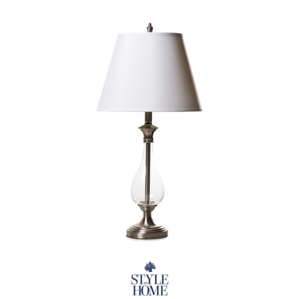 Hamptons Style Glass Table Lamp Glass Table Lamp Hamptons Style Table Lamp