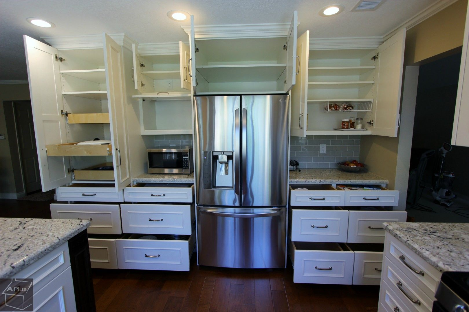 Irvine Complete Kitchen Remodel With Brand New Custom Cabinets In 2020 Complete Kitchen Remodel Kitchen Inspiration Design Beautiful Kitchen Cabinets