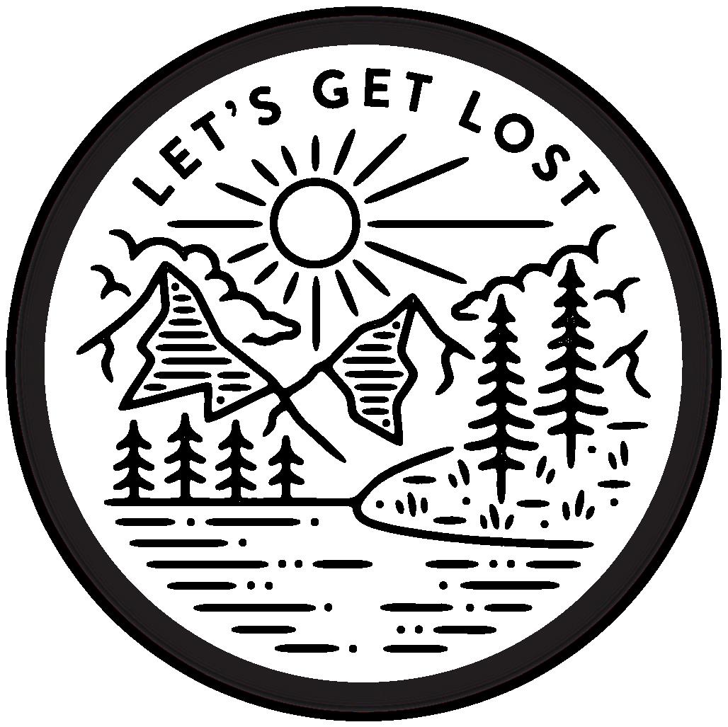 Let's Get Lost Sticker Lets get lost, Stickers, Sticker