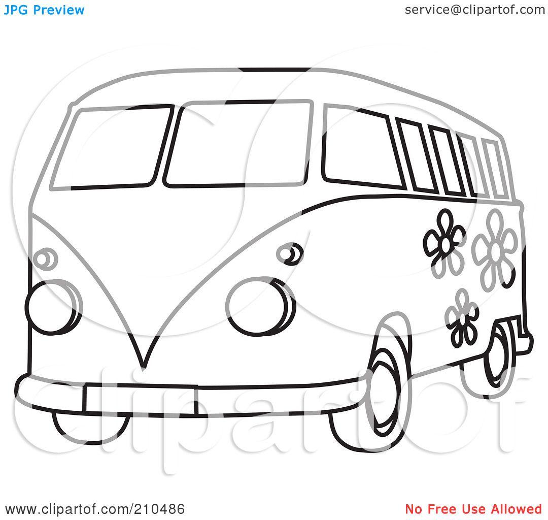 Vw Bus Malvorlagen 2 Auto zum ausmalen Malvorlagen
