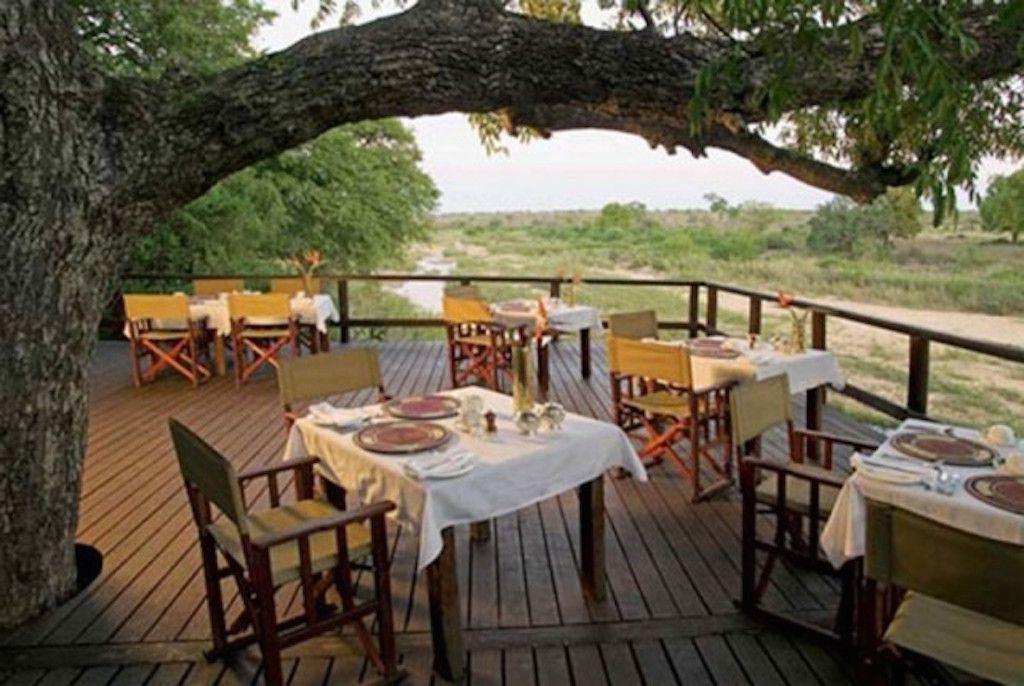 Outdoor Dining Room Near River