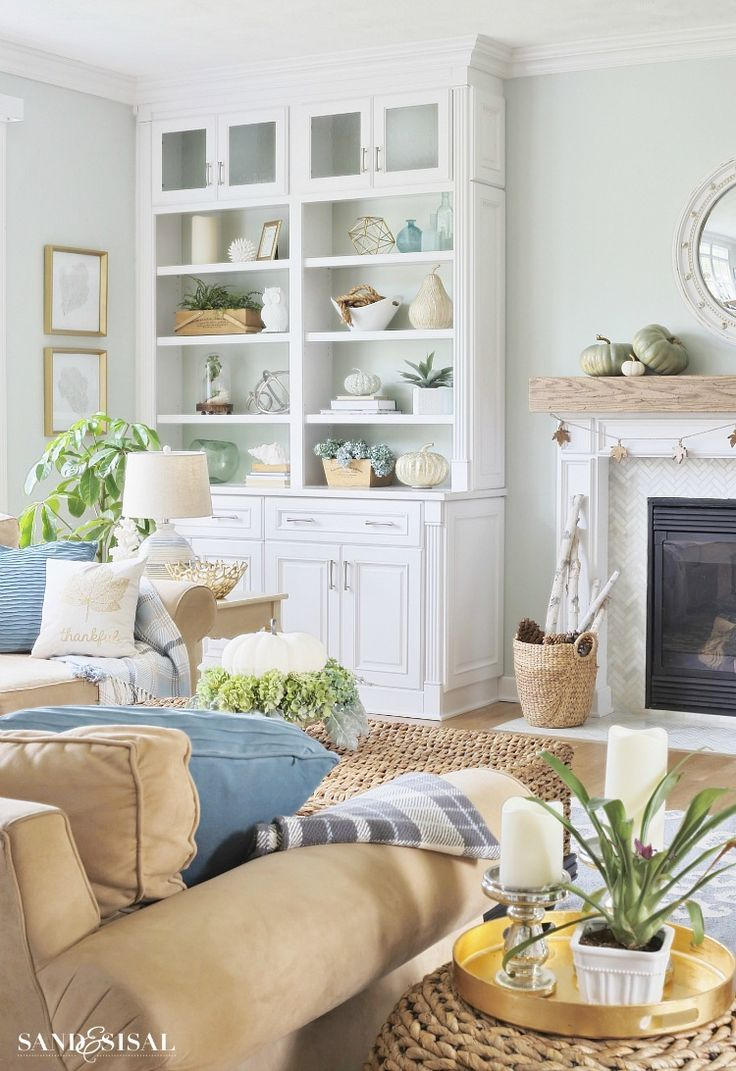 coasting into fall home tour homegoods giveaway coastal fall