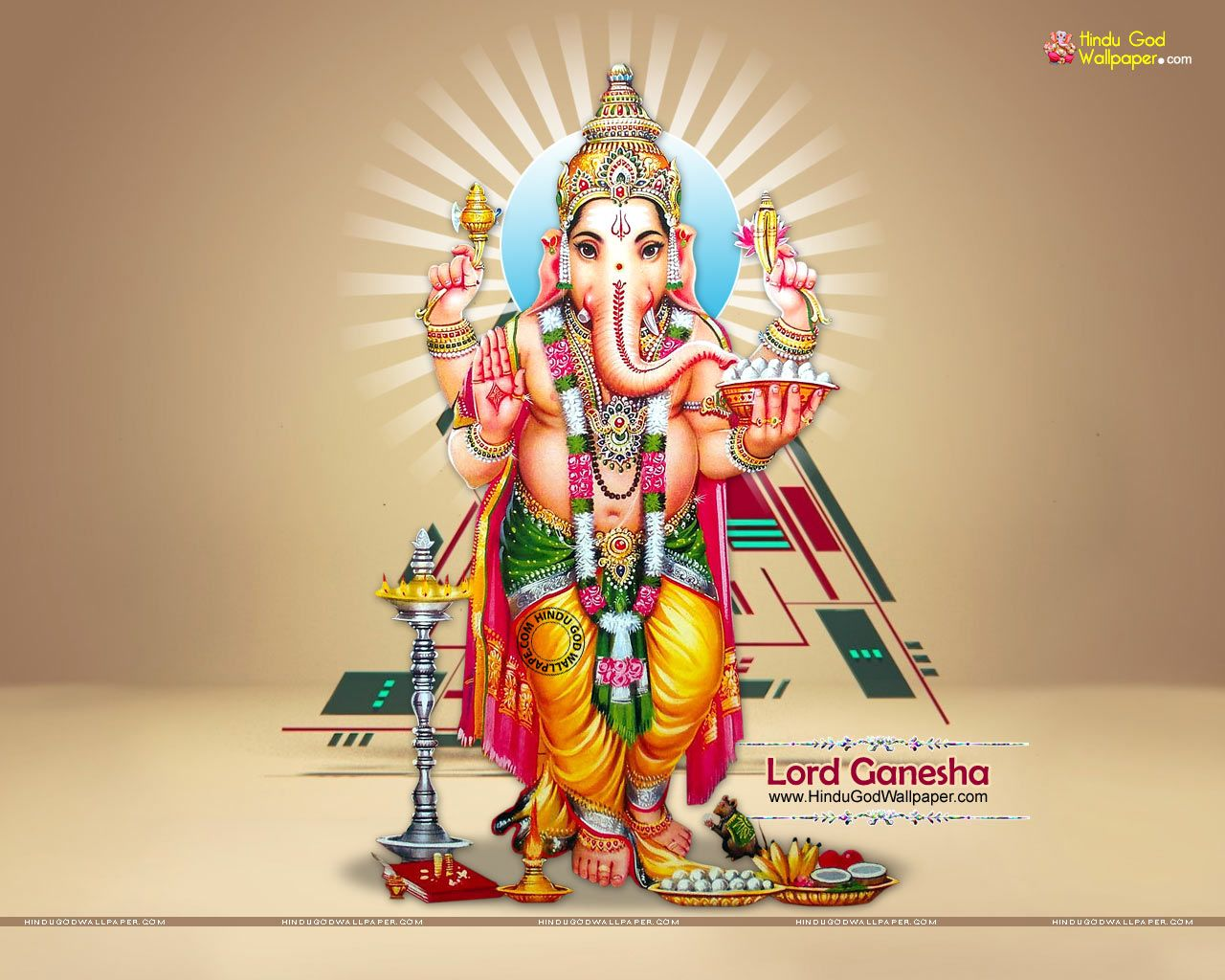 Lord Ganesha Standing Wallpapers Photos Images Download Lord