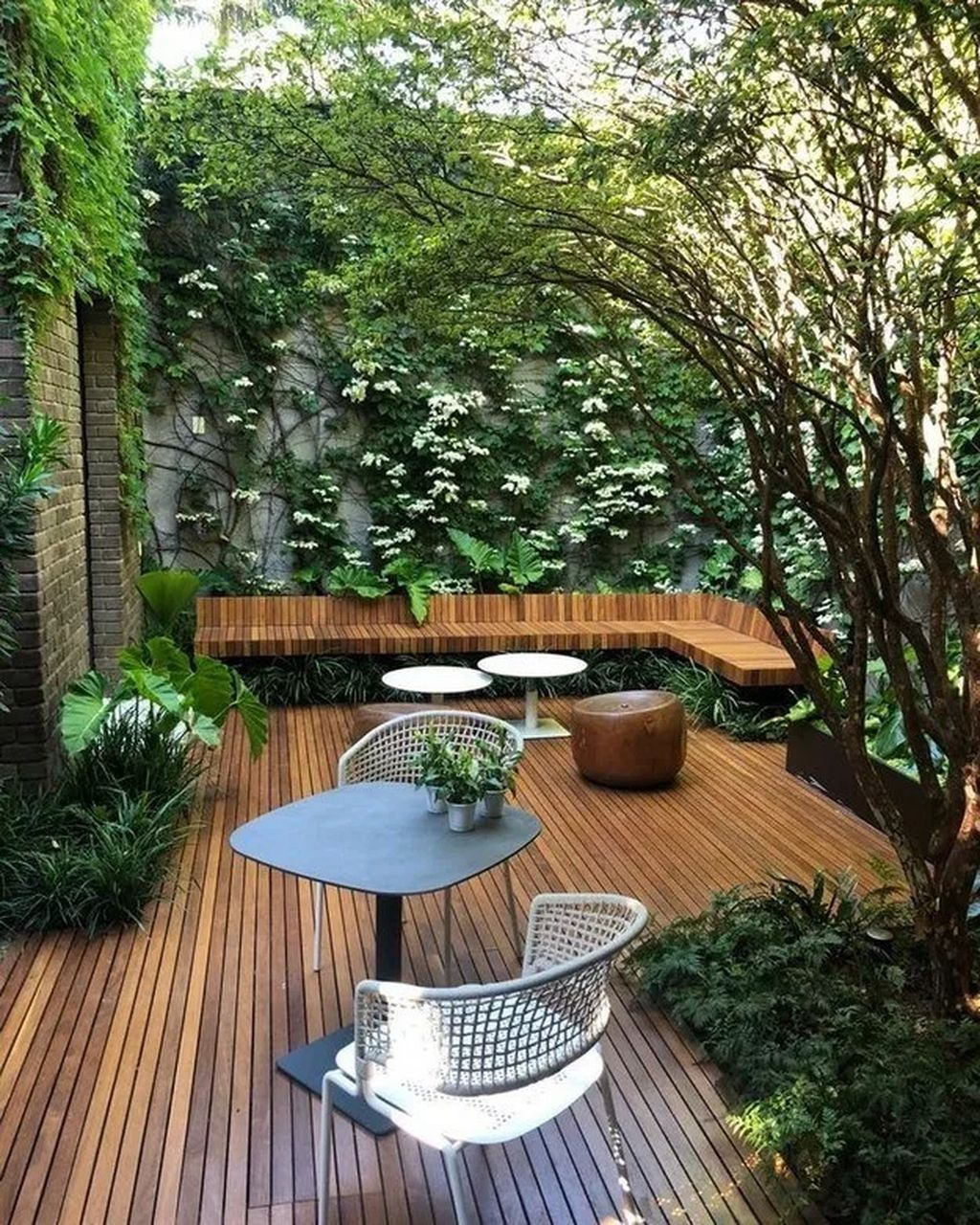 40 gorgeous winter backyard design ideas to soothing your on gorgeous small backyard landscaping ideas id=95295