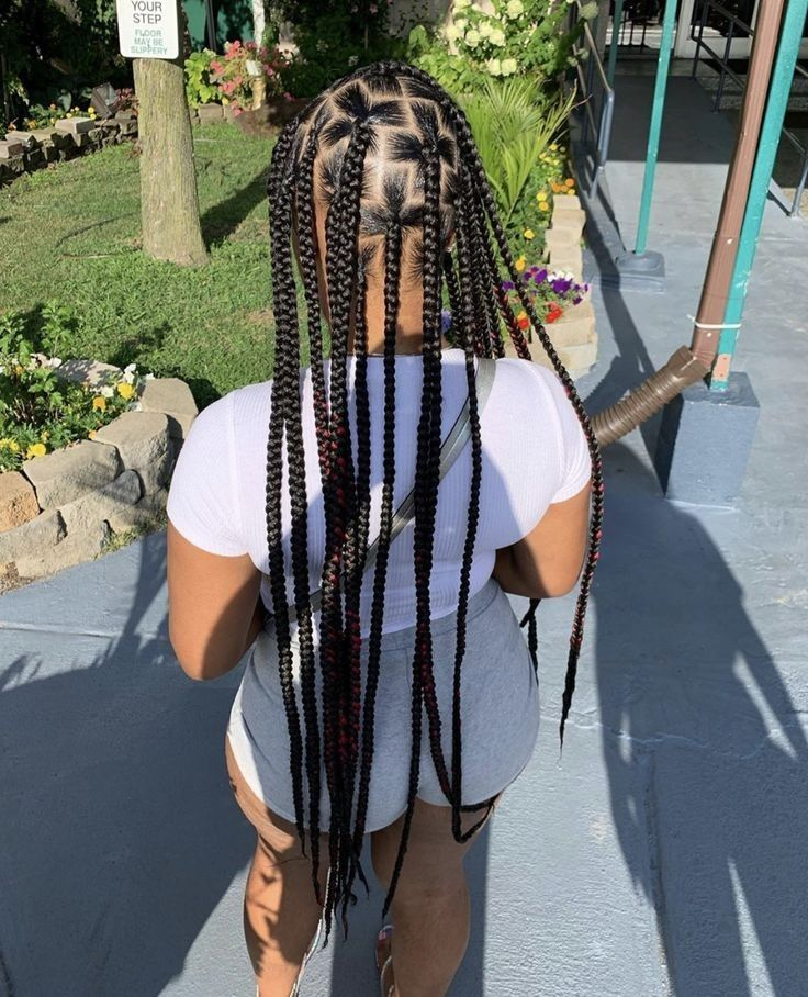 Pin By Iso Me On Your Pinterest Likes Black Girl Braided Hairstyles Hair Styles Black Girl Braids