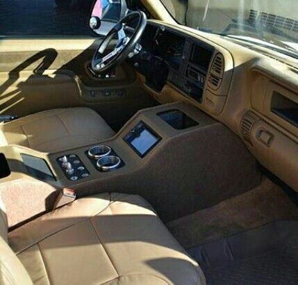 that would be a small center console in my s10 | Custom ...