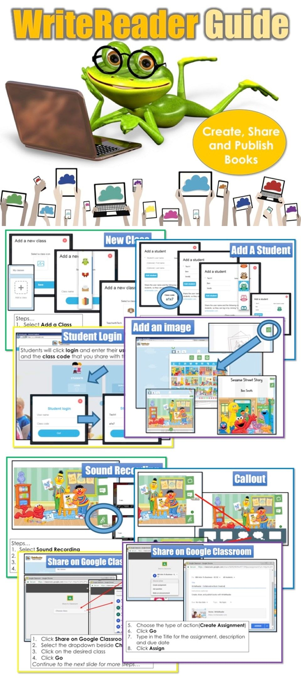 Write Stories Guide Teaching technology