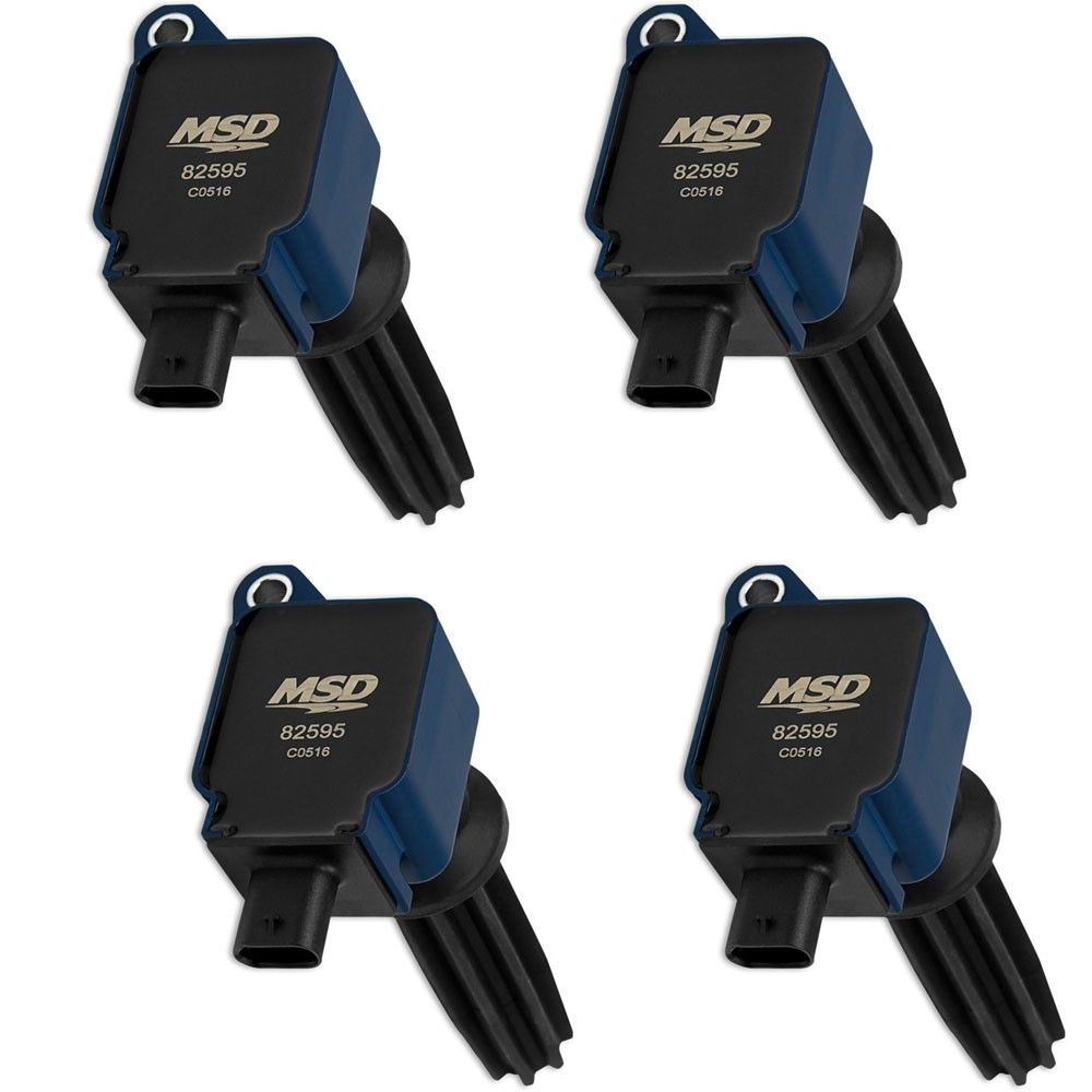 Msd Coil Packs Blue Set Focus St 2013 2018 Focus Rs 2016 2018 Focus Rs Msd Packing