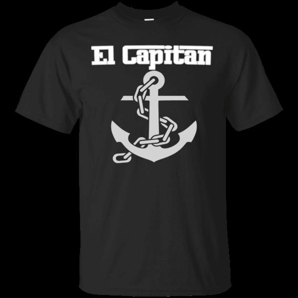 4c921ea83cf360 El Capitan Original Boat Captain T-shirt https   lunartee