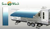Rv Patio Awning Replacement Fabric Rv Awnings Mart 574 966 5698 Patio Awning Rv Awning Replacement Blue Ocean