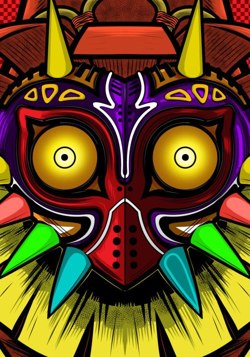 Majora's MaskCreated by Terry Huddleston || FB
