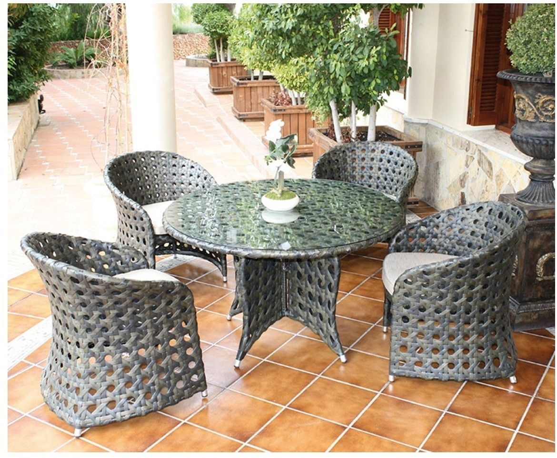 mesa-sillones-jardin-sancti-petri-majestic-garden | Terrace and ...