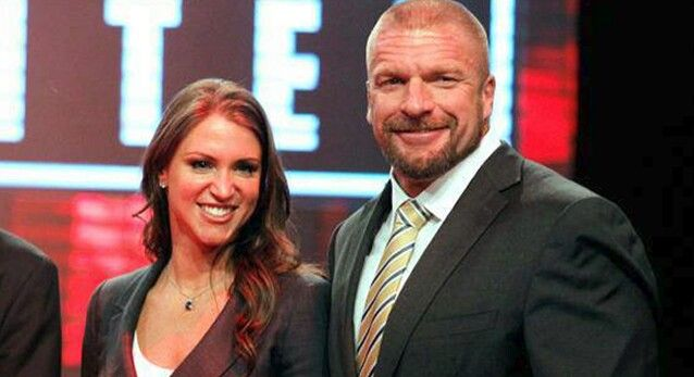 Excellent wwe triphel h wife seems