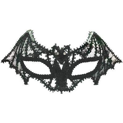 Black Lace Mask+Cat Ear Headband Masquerade Carnival Ball Party Fancy Dress