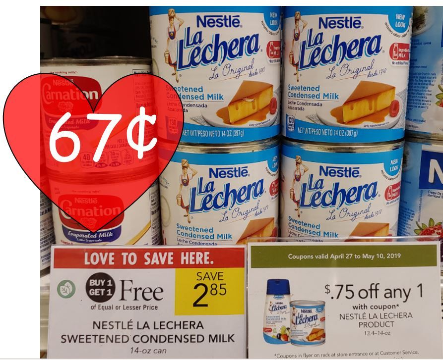 Nestle La Lechera As Low As 0 67 At Publix With Bogo And Coupon Nestle La Lechera Publix La Lechera