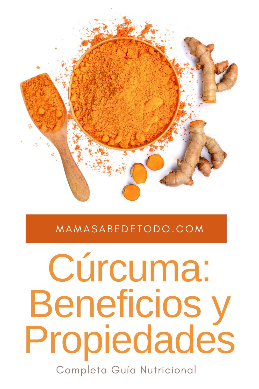 Beneficios y Propiedades de la Cúrcuma. in 2020 Turmeric