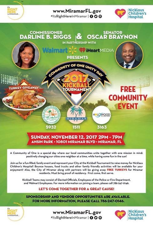 South florida miramar commissioner darline riggs and florida senator south florida miramar commissioner darline riggs and florida senator oscar j braynon are inviting you to this wonderfully free community event publicscrutiny Gallery