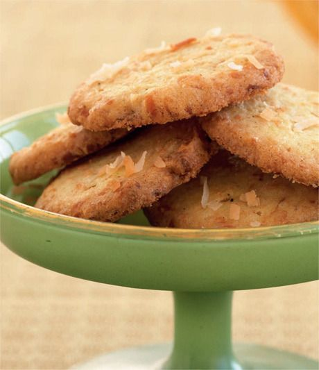 Elegant Coconut And Curry Butter Cookies