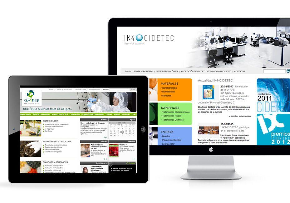Diseno Y Desarrollo Web Para Cidetec Desarrollo Web Y Disenos De
